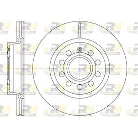 DSX664710 ROADHOUSE Eje delantero, ventilado Ø: 279,9mm, Núm. orificios: 9, Espesor disco freno: 22mm Disco de freno 6647.10 a buen precio