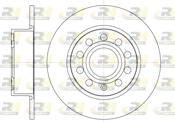 VW Disque d'Origine 6649.00