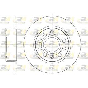 DSX664900 ROADHOUSE Hinterachse, Voll Ø: 254,7mm, Lochanzahl: 9, Bremsscheibendicke: 9,9mm Bremsscheibe 6649.00 günstig kaufen