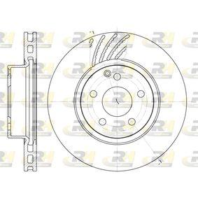 DSX667710 ROADHOUSE Vorderachse, belüftet Ø: 312mm, Lochanzahl: 5, Bremsscheibendicke: 28mm Bremsscheibe 6677.10 günstig kaufen