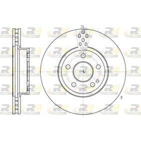 DSX667910 ROADHOUSE Vorderachse, belüftet Ø: 299,5mm, Lochanzahl: 5, Bremsscheibendicke: 28mm Bremsscheibe 6679.10 günstig kaufen