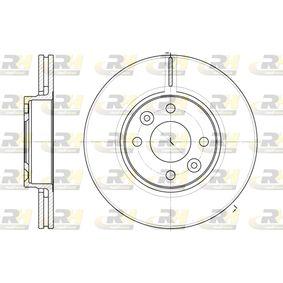 DSX668310 ROADHOUSE Vorderachse, belüftet Ø: 259,8mm, Lochanzahl: 4, Bremsscheibendicke: 22mm Bremsscheibe 6683.10 günstig kaufen