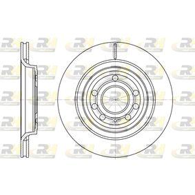 DSX668610 ROADHOUSE Hinterachse, belüftet Ø: 291,9mm, Lochanzahl: 5, Bremsscheibendicke: 20mm Bremsscheibe 6686.10 günstig kaufen