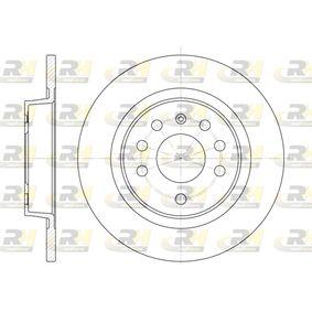 DSX668800 ROADHOUSE Hinterachse, Voll Ø: 278mm, Lochanzahl: 5, Bremsscheibendicke: 12mm Bremsscheibe 6688.00 günstig kaufen