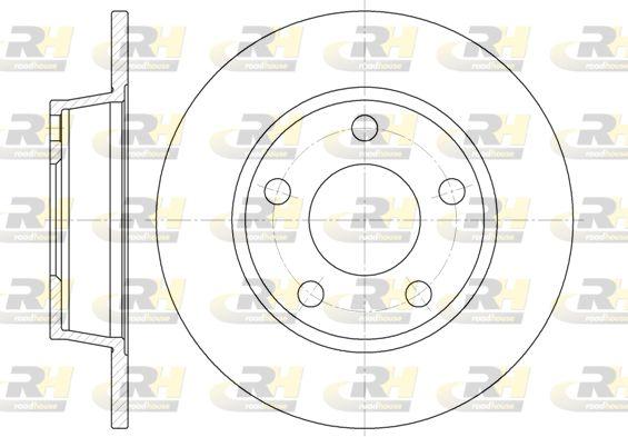 Stabdžių diskas 6723.00 ROADHOUSE — tik naujos dalys