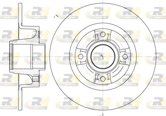 Stabdžių diskas 6750.00 ROADHOUSE — tik naujos dalys