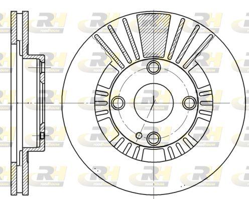VW Disque d'Origine 6812.10