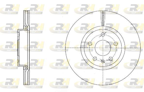 VW Disques de frein d'Origine 6972.10