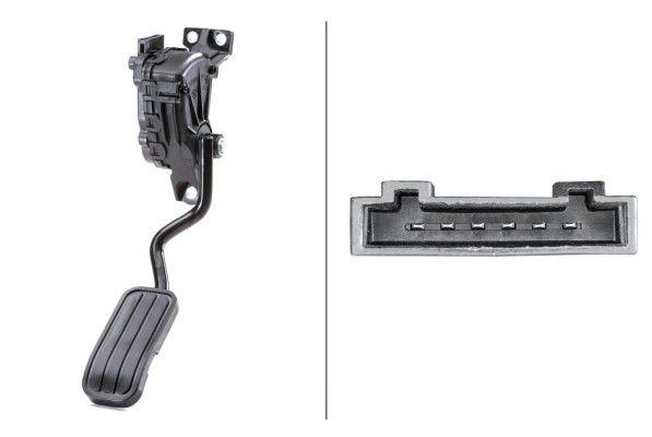 6PV 007 770-711 HELLA Sensor, posição do pedal do acelerador - compre online