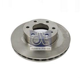 Comprare 7.36081 DT Assale anteriore, Autoventilato Ø: 300mm, N° fori: 6, Spessore disco freno: 28mm Disco freno 7.36081 poco costoso