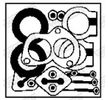 Monteringssats katalysatorkonverter 87603 WALKER — bara nya delar