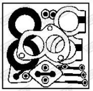 OE Original Montagesatz Katalysator 87619 WALKER