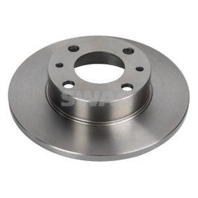 70 91 0616 SWAG Solid, belagd Ø: 227,5mm, Bromsskivetjocklek: 10,8mm Bromsskiva 70 91 0616 köp lågt pris