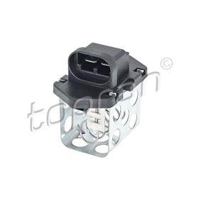 701 415 TOPRAN Vorwiderstand, Elektromotor-Kühlerlüfter 701 415 günstig kaufen