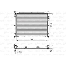 701543 VALEO Aluminium Kühler, Motorkühlung 701543 günstig kaufen