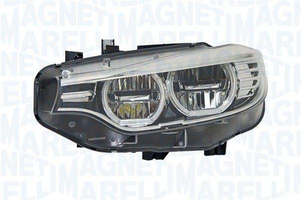 BMW 4er 2014 Frontscheinwerfer - Original MAGNETI MARELLI 711451000052 Links-/Rechtsverkehr: für Rechtsverkehr, Fahrzeugausstattung: für Fahrzeuge mit Leuchtweiteregelung (automatisch)