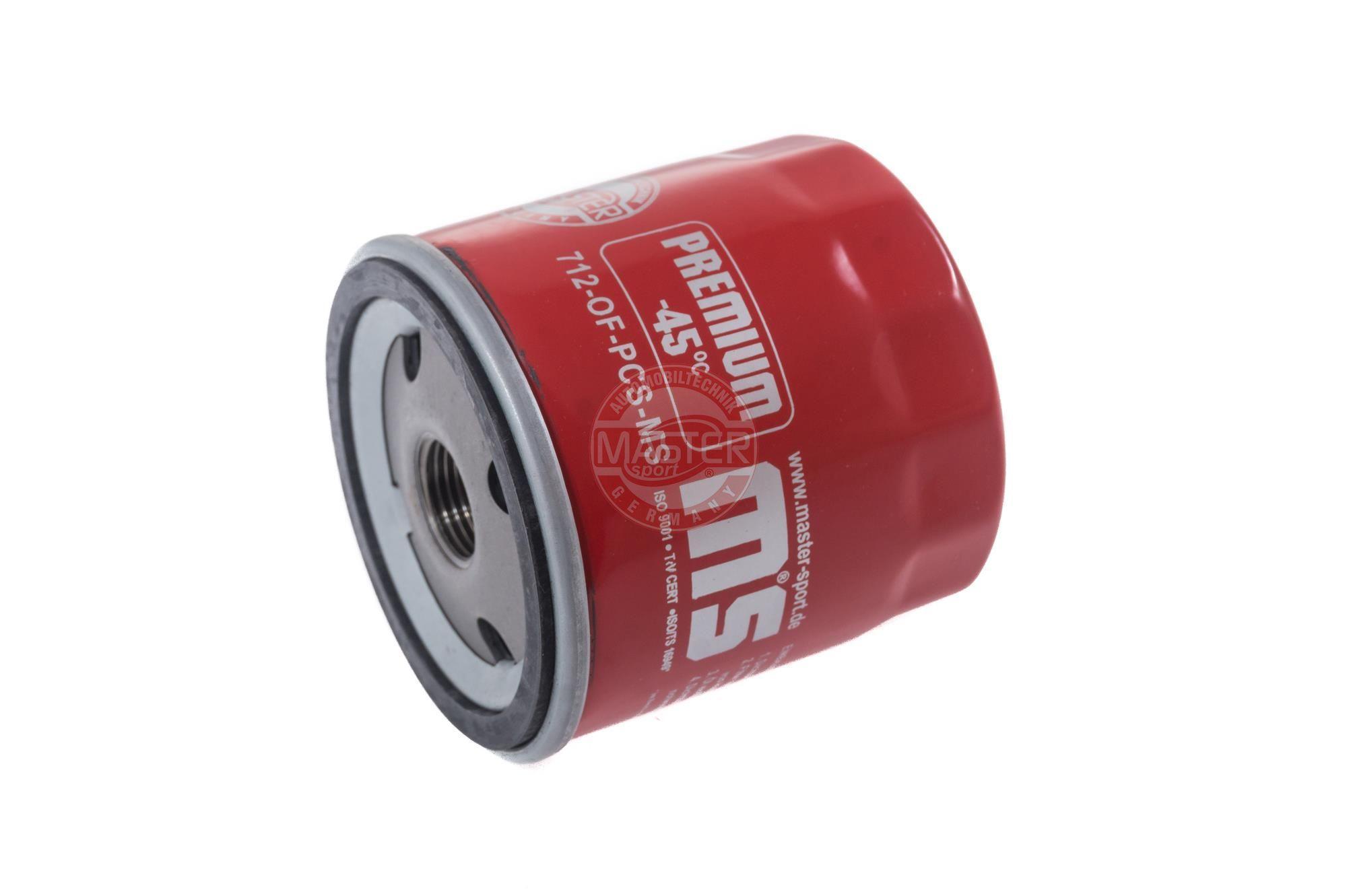 MASTER-SPORT: Original Ölfilter 712-OF-PCS-MS (Innendurchmesser 2: 62mm, Innendurchmesser 2: 62mm, Ø: 76mm, Außendurchmesser 2: 71mm, Höhe: 79mm)