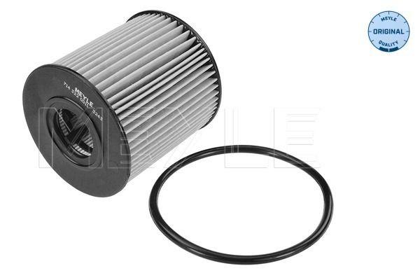 MOF0205 MEYLE mit Dichtung, Filtereinsatz, ORIGINAL Quality Innendurchmesser: 24mm, Ø: 65mm, Höhe: 69mm Ölfilter 714 322 0011 günstig kaufen