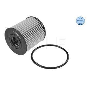 MOF0205 MEYLE mit Dichtung, Filtereinsatz, MEYLE-ORIGINAL Quality Innendurchmesser: 24mm, Ø: 65mm, Höhe: 69mm Ölfilter 714 322 0011 günstig kaufen