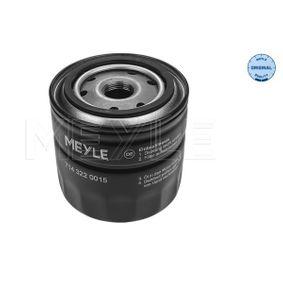 MOF0208 MEYLE Anschraubfilter, mit einem Rücklaufsperrventil, ORIGINAL Quality Ø: 93mm, Höhe: 89mm Ölfilter 714 322 0015 günstig kaufen
