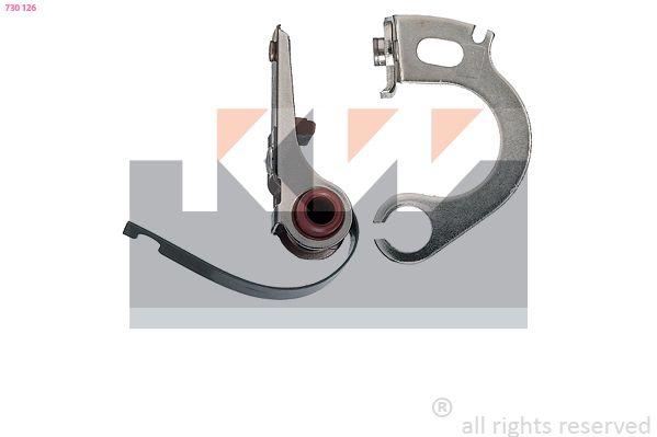 Zündverteiler und Einzelteile KW 715 124