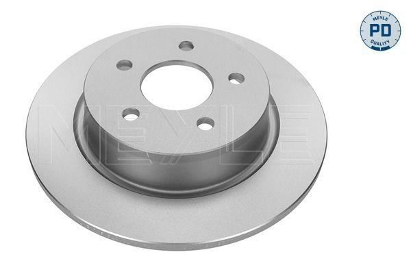 MBD2063PD MEYLE MEYLE-PD Quality, Hinterachse, Voll, Zink-Lamellen-beschichtet Ø: 280mm, Lochanzahl: 5, Bremsscheibendicke: 11mm Bremsscheibe 715 523 0009/PD günstig kaufen