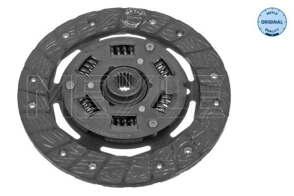 Clutch plate 717 190 1700 MEYLE — only new parts