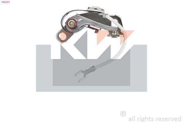 Zündverteiler und Einzelteile KW 746 071