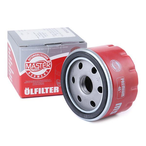 440007530 MASTER-SPORT Wkład filtra, z zaworem zwrotnym Średnica wewnętrzna 2: 62[mm], Średnica wewnętrzna 2: 62[mm], Ø: 76[mm], średnica zewnętrzna 2: 71[mm], Wys.: 50[mm] Filtr oleju 75/3-OF-PCS-MS kupić niedrogo