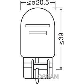 W215W OSRAM W3x16q, 21/5W, 12V, ORIGINAL Glühlampe, Brems- / Schlusslicht 7515-02B günstig kaufen