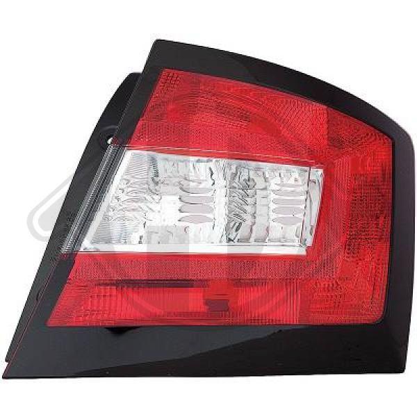 Buy original Rear tail light DIEDERICHS 7807091
