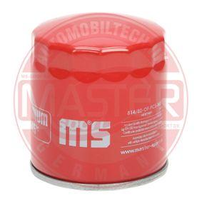 440814800 MASTER-SPORT mit einem Rücklaufsperrventil Innendurchmesser 2: 57mm, Ø: 82mm, Außendurchmesser 2: 66mm, Höhe: 92mm Ölfilter 814/80-OF-PCS-MS günstig kaufen