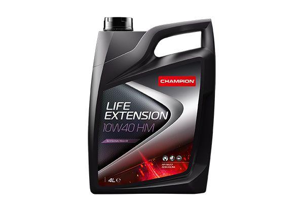 Achat de 8202513 CHAMPION LUBRICANTS LIFE EXTENSION 10W-40, 4I, Huile en partie synthétique Huile moteur 8202513 pas chères