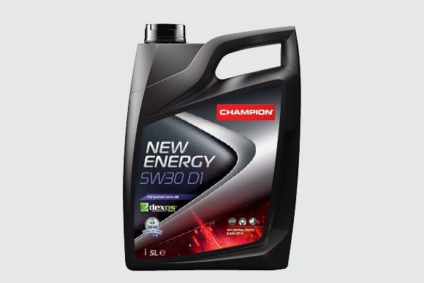 Achat de 8203015 CHAMPION LUBRICANTS NEW ENERGY, 5W30 ASIA/US 5W-30, 5I, Huile synthétique Huile moteur 8203015 pas chères