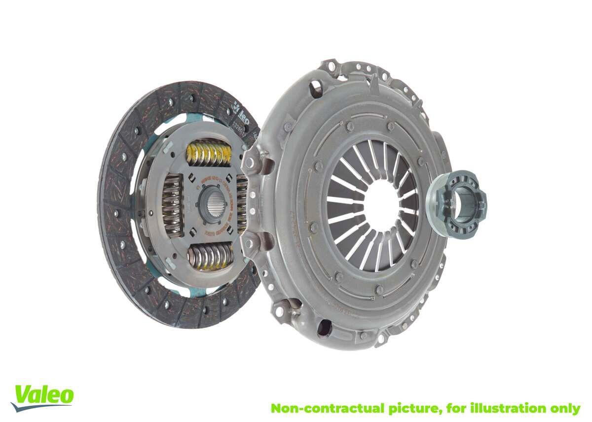 BMW 1 Series 2016 Clutch kit VALEO 832253: with clutch pressure plate, with clutch plate, with clutch release bearing