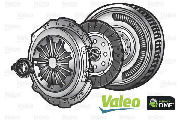 BMW 7 Series 2010 Clutch kit VALEO 837084: for engines with dual-mass flywheel, with clutch pressure plate, with clutch disc, with clutch release bearing, with flywheel, without lock screw set