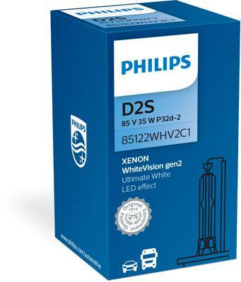 PHILIPS | Glödlampa, fjärrstrålkastare 85122WHV2C1