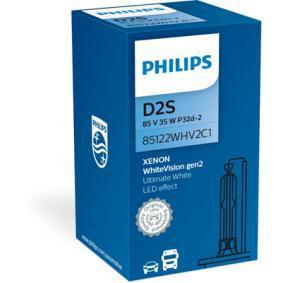 85122WHV2C1 Glödlampa, fjärrstrålkastare PHILIPS Stor urvalssektion — enorma rabatter