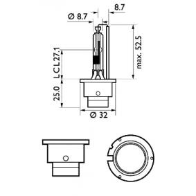 85126XV2S1 Bulb, spotlight PHILIPS - Cheap brand products