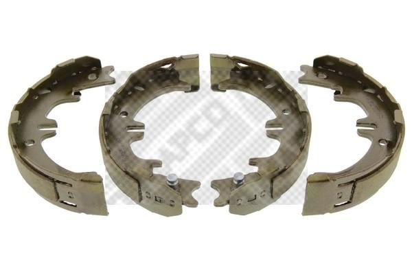 MAPCO: Original Bremsbelagsatz Trommelbremse 8575 (Breite: 45mm)