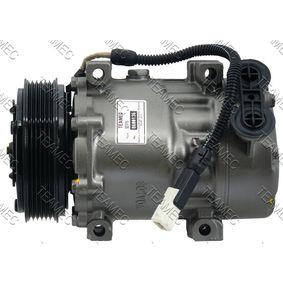 SD7V16 TEAMEC PAG 46 Riemenscheiben-Ø: 119mm Kompressor, Klimaanlage 8600136 günstig kaufen