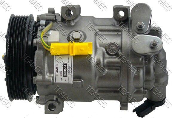 SD7C16 TEAMEC PAG 46 Riemenscheiben-Ø: 119mm Klimakompressor 8608554 günstig kaufen