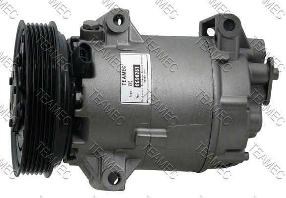 CVC TEAMEC PAG 46 Riemenscheiben-Ø: 125mm Kompressor, Klimaanlage 8690261 günstig kaufen