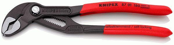 87 01 180 KNIPEX Länge: 180mm Rohr- / Wasserpumpenzange 87 01 180 günstig kaufen