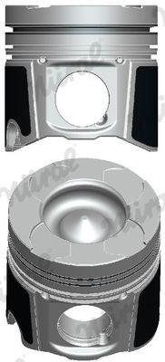 NÜRAL: Original Motor Kolben 87-137507-30 ()