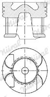 NÜRAL: Original Motor Kolben 87-422407-10 ()