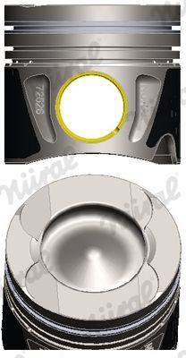 NÜRAL: Original Kolben 87-433407-10 ()