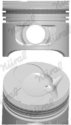 NÜRAL Piston for MULTICAR - item number: 87-743100-10