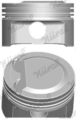 NÜRAL: Original Kolben 87-849200-00 ()