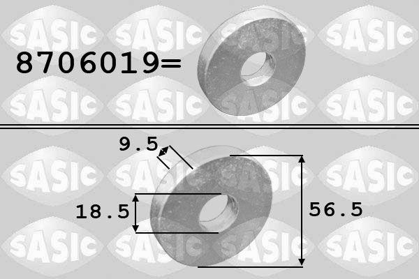 SASIC: Original Riemenscheibenschraube 8706019 ()